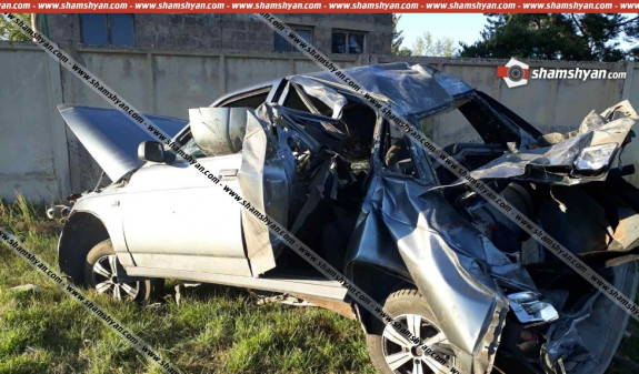 Photo of Գեղարքունիքի մարզում 21-ամյա վարորդը, ВАЗ 21101-ով մի քանի պտույտ շրջվելով, հայտնվել է փոսում. կա վիրավոր