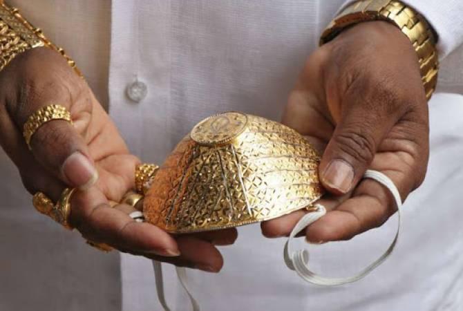 Photo of В Израиле создают медицинскую маску из золота с бриллиантами