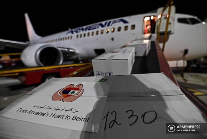Photo of Ливанская пресса отозвалась на гуманитарную помощь, отправленную из Армении