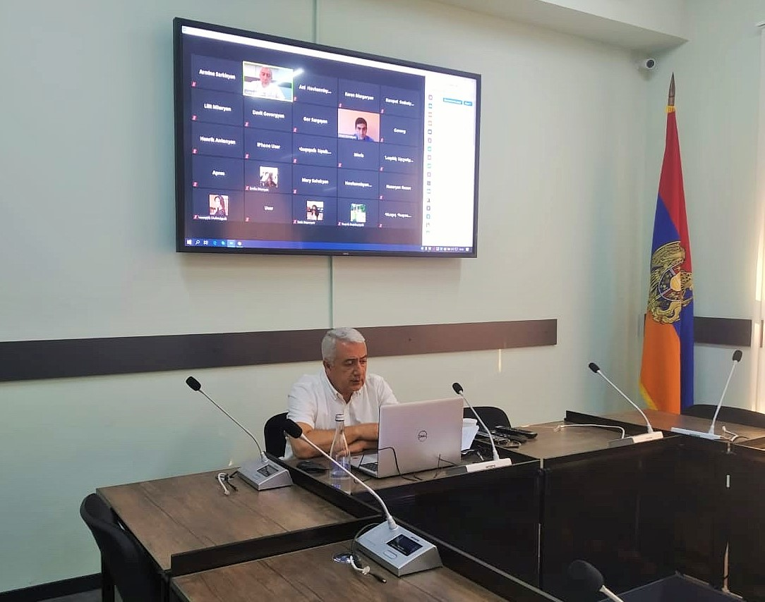 Photo of ՀՀ գլխավոր դատախազի խորհրդականը հեռավար հանդիպում է անցկացրել մի քանի բուհերի իրավագիտության մասնագիտությամբ շրջանավարտների հետ