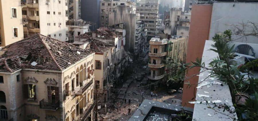 Photo of Улицы Бейрута после взрывов (фото)