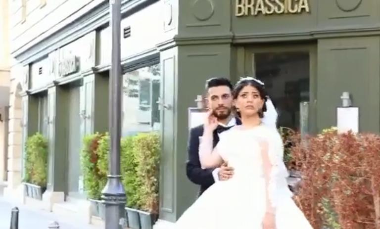 Photo of В Интернете распространилось еще одно видео из Бейрута: взрыв во время свадебной фотосессии