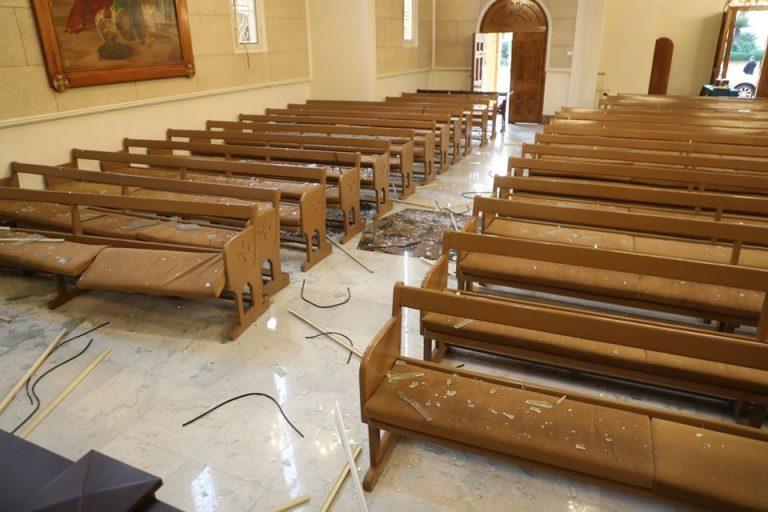 Photo of Բեյրութում պայթյունի հետևանքով վնասվել է նաև Անթիլիասի կաթողիկոսարանը