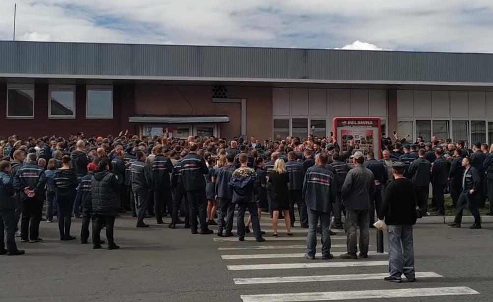 Photo of Парализованы крупнейшие предприятия. В Беларуси всеобщая забастовка