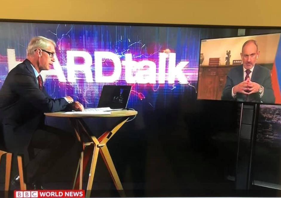 Photo of «BBC-ի «HardTalk» հաղորդման այսօրվա հյուրն եմ». Ն. Փաշինյան