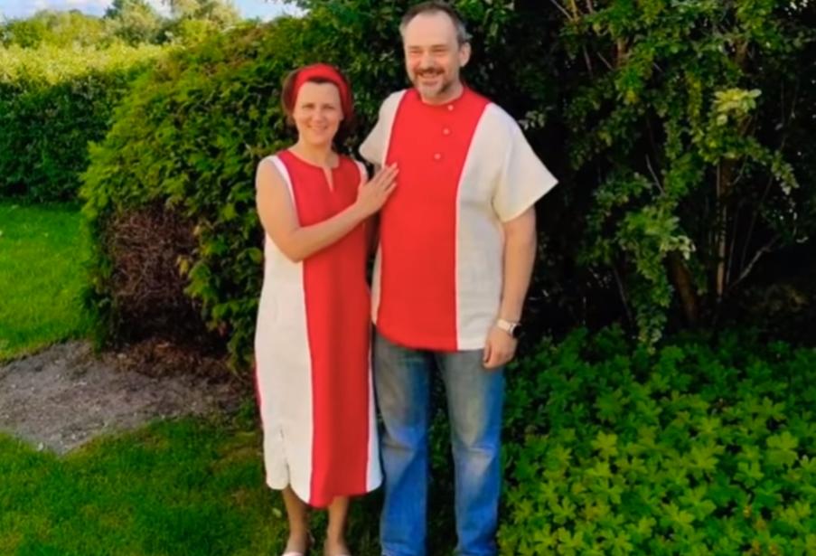 Photo of В Беларуси чету арестовали за ношение бело-красно-белой одежды