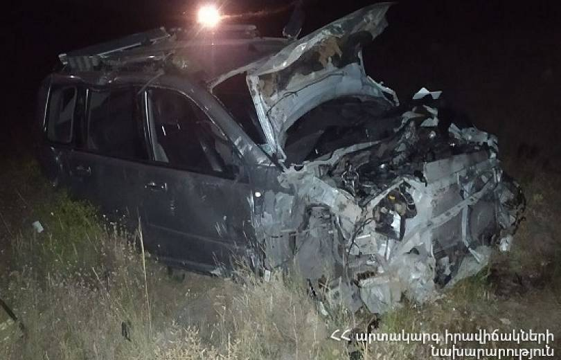 Photo of Երևան-Գյումրի ավտոճանապարհին մեքենան ձորն է գլորվել. տուժածի վիճակը ծանր է