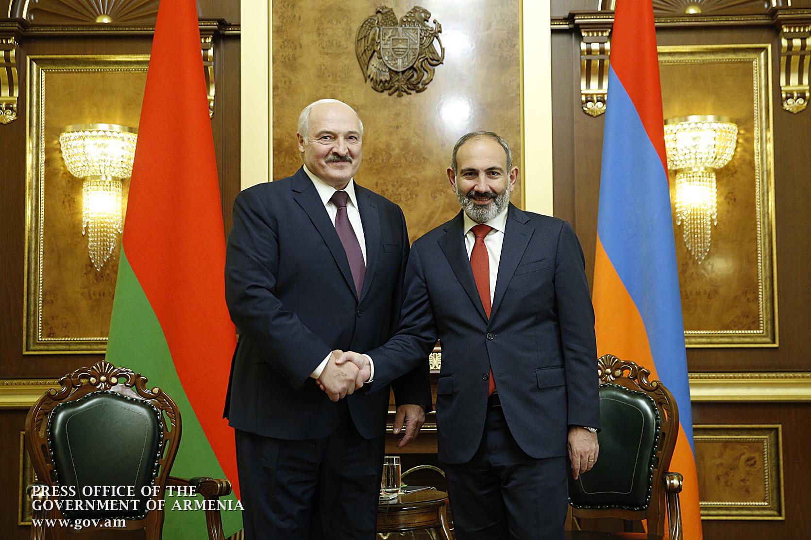 Photo of Никол Пашинян поздравил Александра Лукашенко по случаю переизбрания на пост президента Республики Беларусь