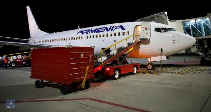 Photo of Из Армении в Ливан вылетел очередной борт с гуманитарным грузом