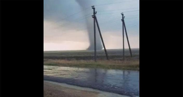 Photo of Հզոր տորնադո Ղրիմում. ականատեսները տեսագրել են բնության պոռթկումը