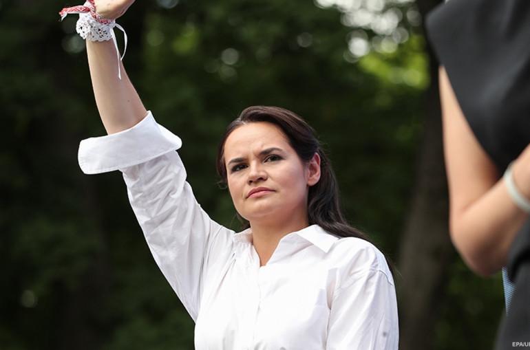 Photo of Тихановская поздравила арестованного мужа с днем рождения