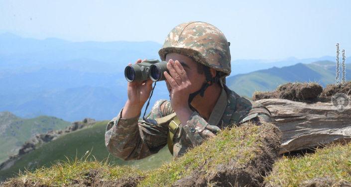Photo of Հայ սպան մոլորվել է. Ադրբեջանի ՊՆ-ի կողմից նա  ներկայացվում է որպես դիվերասանտ
