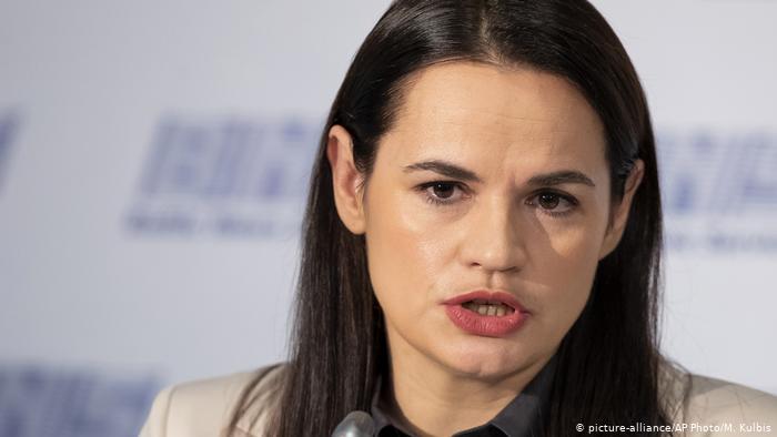 Photo of Тихановская в Вильнюсе: провокатор среди журналистов и план из 4 пунктов