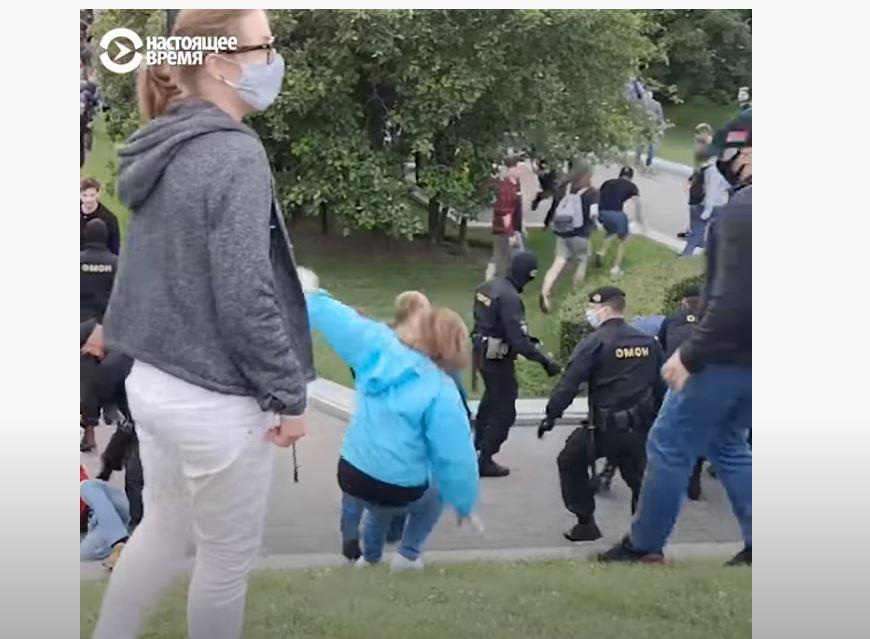 Photo of Մինսկում ՕՄՕՆ-ի հետ բախումների հետևանքով կան վիրավորներ