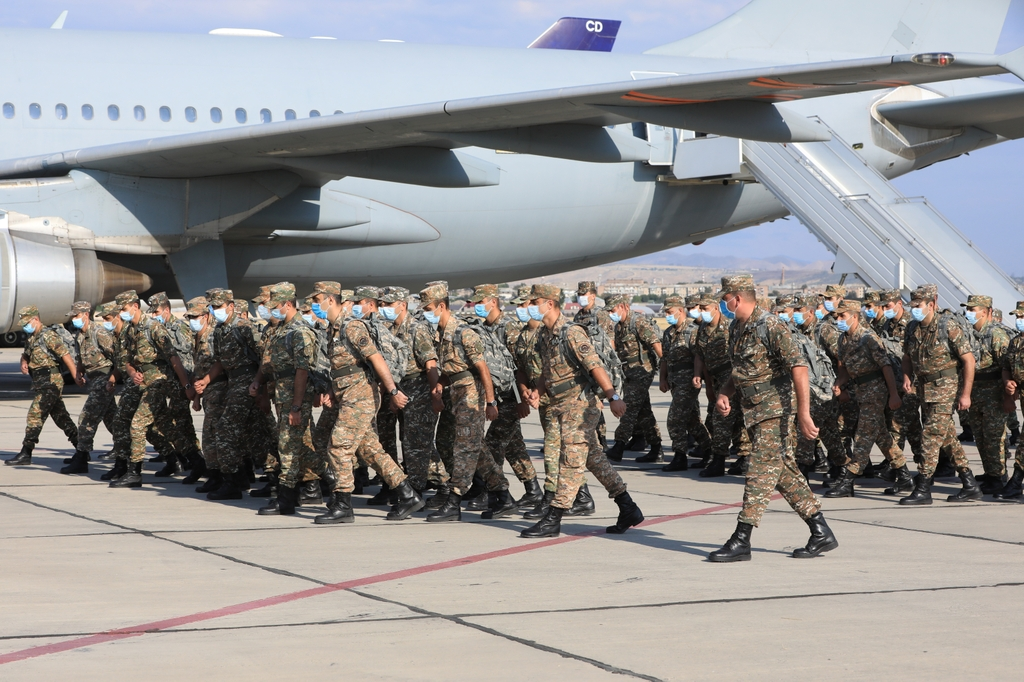Photo of Очередной контингент армянских  миротворцев отправился в Афганистан