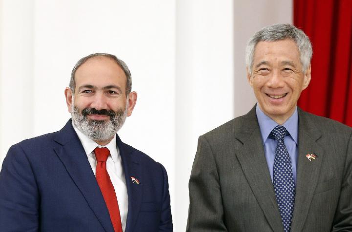 Photo of Никол Пашинян  поздравил премьер-министра Сингапура по случаю Национального праздника страны
