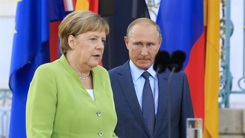 Photo of Bloomberg (США): у Ангелы Меркель опять проблема с Путиным