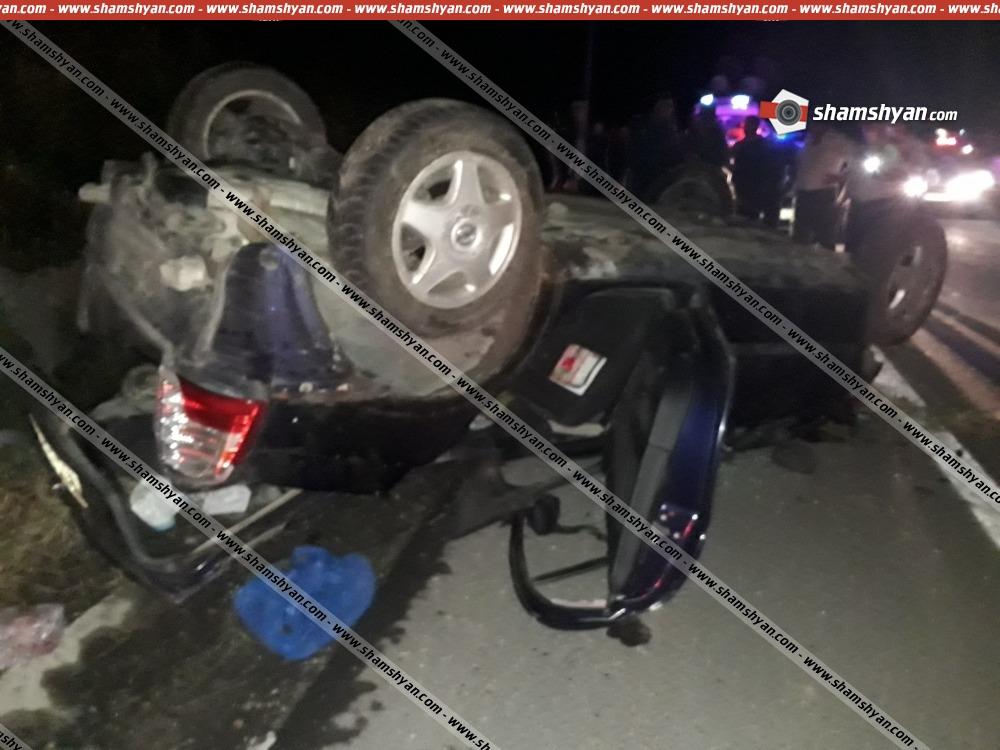 Photo of Խոշոր ավտովթար Գեղարքունիքի մարզում. 30-ամյա վարորդը Opel-ով գլխիվայր շրջվել է, կան վիրավորներ