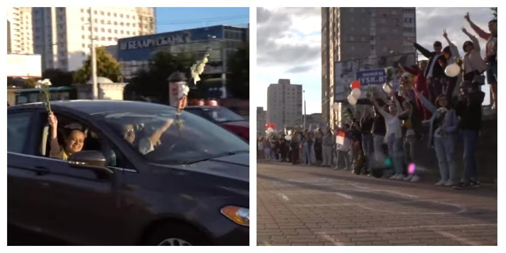 Photo of Что происходит в Беларуси, видеоматериал из разных городов
