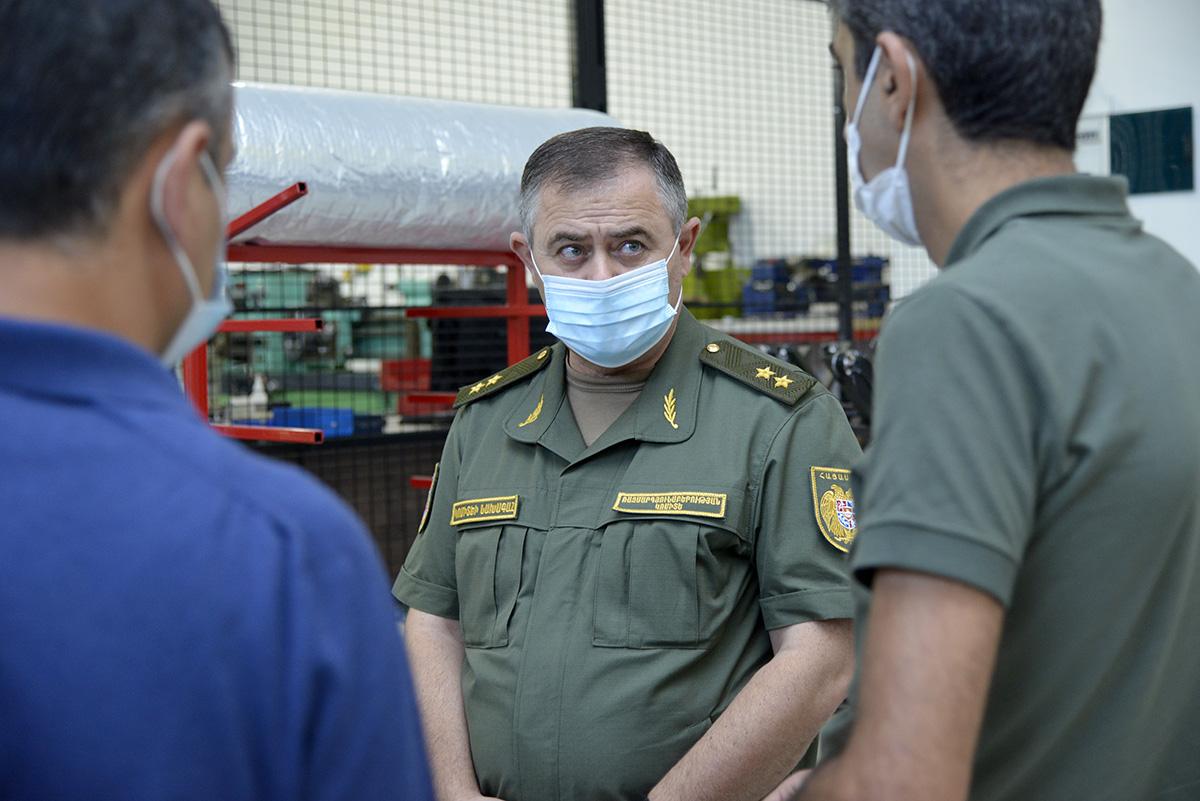 Photo of Артак Давтян посетил предприятия оборонно-промышленного комплекса