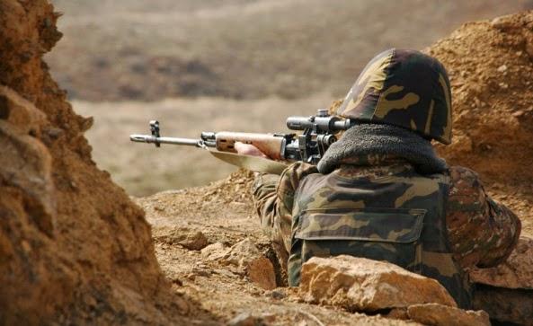 Photo of 7 дней на передовой линии, по армянским позициям было произведено более 2300 выстрелов