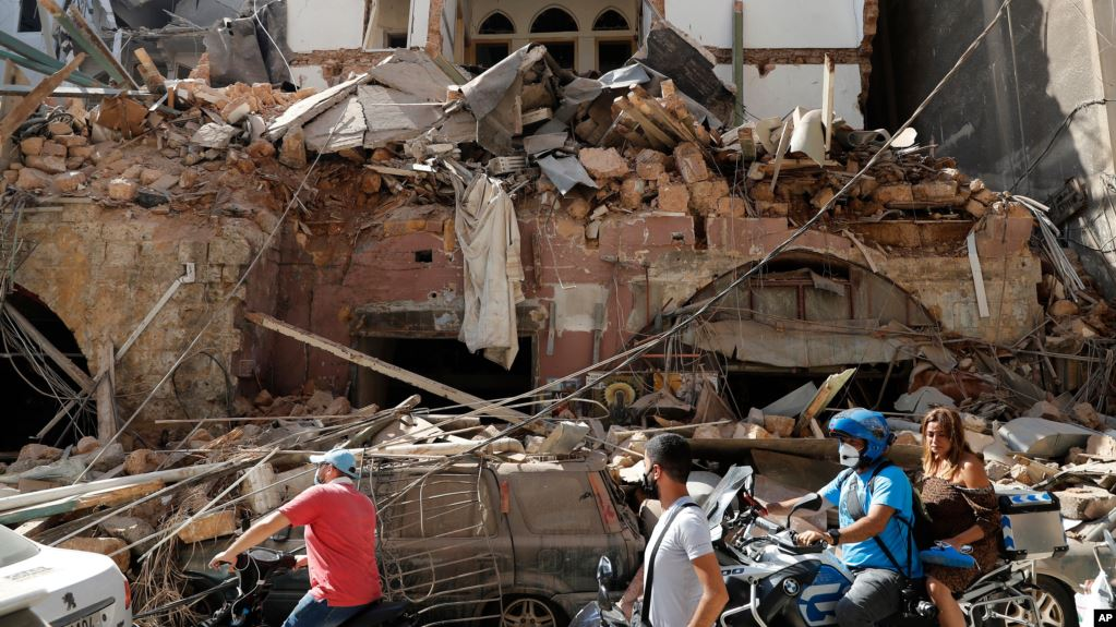 Photo of Բեյրութն՝ ավերիչ պայթյունից հետո