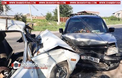Photo of Ողբերգական ավտովթար Արարատի մարզում. ճակատ-ճակատի բախվել են Opel-ն ու ВАЗ 2106-ը. կա 1 զոհ, 1 վիրավոր