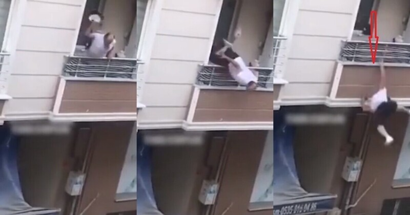Photo of Թուրք տղամարդն ընկերուհու հետ վեճի ժամանակ կորցնում է հավասարակշռությունը եւ նրա իրերը շպրտելիս՝ ընկնում պատշգամբից