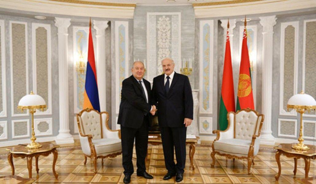 Photo of Նախագահ Արմեն Սարգսյանը շնորհավորել է Ալեքսանդր Լուկաշենկոյին` Բելառուսի նախագահի պաշտոնում վերընտրվելու առթիվ