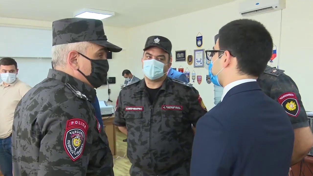 Photo of ՀՀ ոստիկանապետի հրամաններով նշանակումներ են կատարվել ոստիկանության մի քանի պաշտոններում