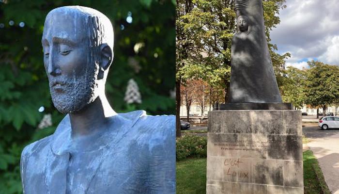 Photo of В Париже осквернили памятник Комитасу