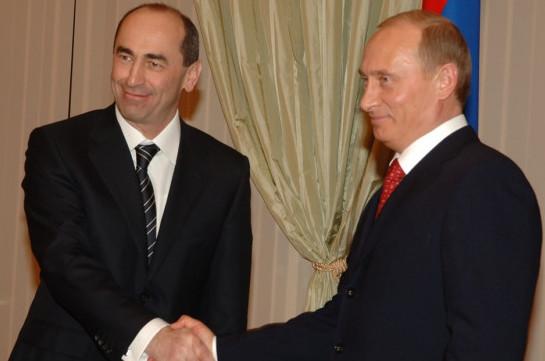 Photo of Владимир Путин поздравил Роберта Кочаряна