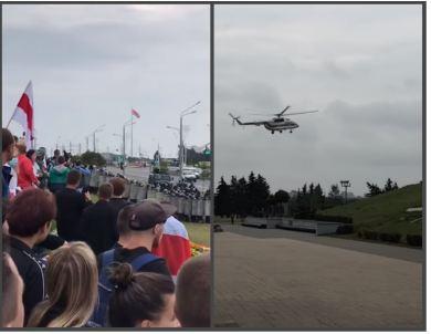 Photo of В Минске у Дворца независимости приземлился вертолет