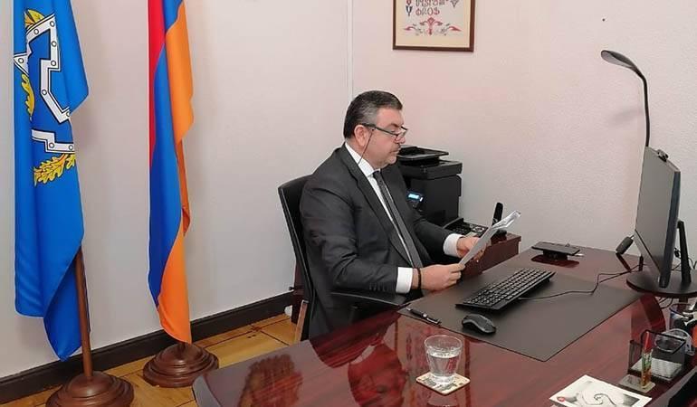 Photo of Ադրբեջանական ղեկավարությունը ընտրել է ղարաբաղյան խնդրի լուծման իր ճանապարհը՝ հրահրելով լայնամասշտաբ պատերազմ. ՀԱՊԿ-ում ՀՀ մշտական և լիազոր ներկայացուցիչ Վիկտոր Բիյագով