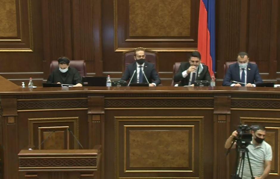Photo of В парламенте Армении началось очередное заседание
