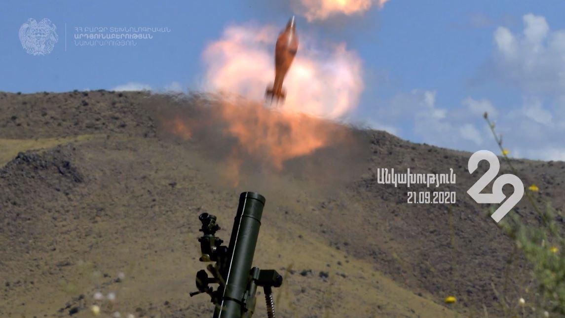 Photo of Мины и минометы армянского производства — в действии