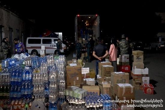 Photo of ԱԻՆ-ը հումանիտար օգնություն է տանում Արցախ