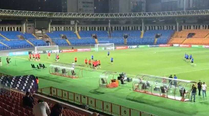 Photo of Հայաստանի հավաքականի նախախաղային մարզումը