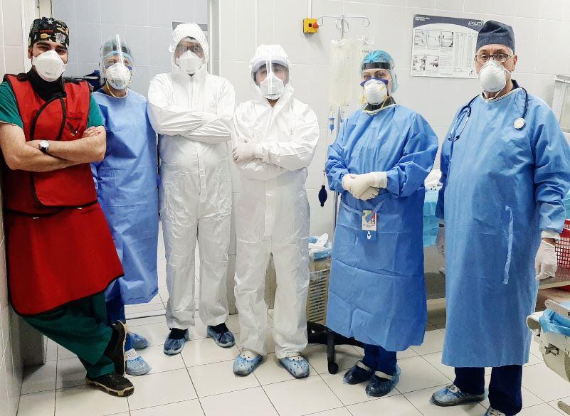 Photo of Армянские нейрохирурги провели сложнейшую операцию пациенту с коронавирусной пневмонией