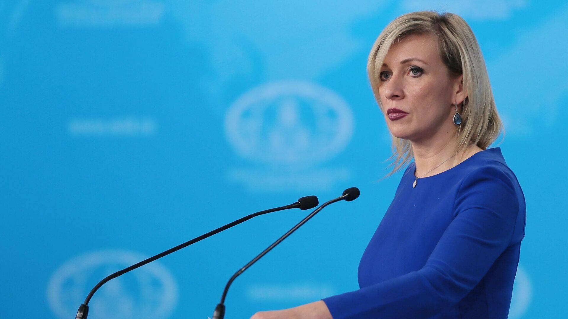 Photo of Мария Захарова призвала принимать за основание официальное заявление МИД России, а не комментарии азербайджанских СМИ