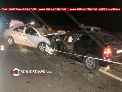 Photo of Ողբերգական ավտովթար Կոտայքի մարզում. Չայնիի ոլորաններում ճակատ ճակատի բախվել են Opel-ն ու ռուսական համարանիշներով Geely-ն. կա 1 զոհ, 3 վիրավոր