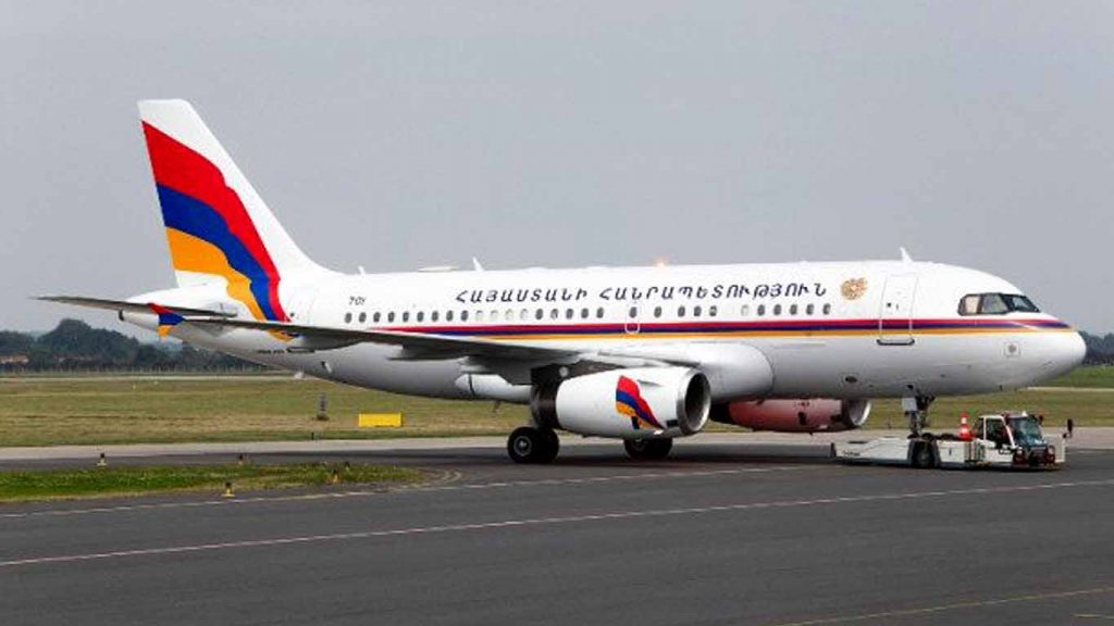 Photo of Վարչապետի ծառայողական ինքնաթիռի նշագծման համար 250,000 դոլար չի ծախսվել