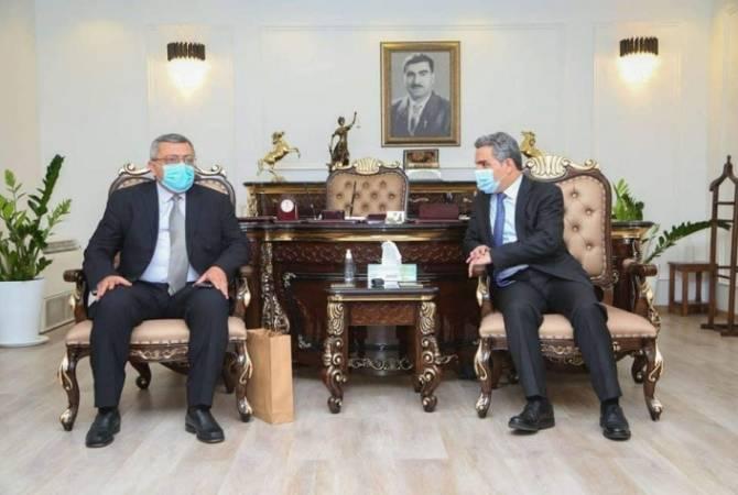 Photo of Работы по открытию генерального консульства Армении в Эрбиле продолжаются