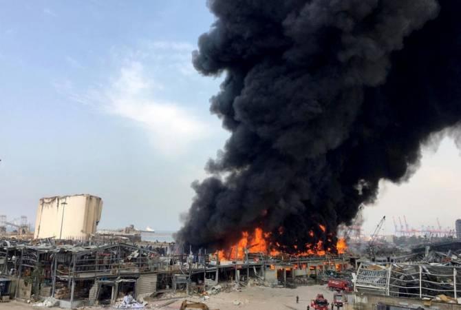 Photo of Власти Ливана назвали причину пожара в порту Бейрута