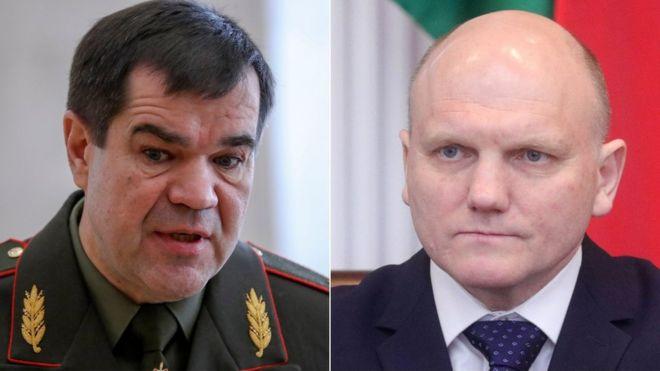 Photo of Лукашенко поменял руководителей КГБ и Совбеза Беларуси