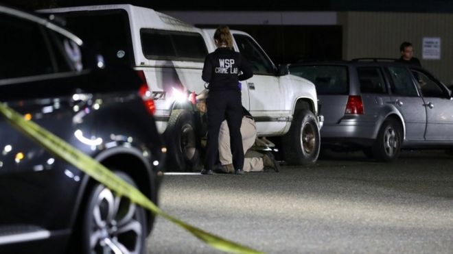 Photo of Полиция Портленда застрелила подозреваемого в убийстве сторонника Трампа