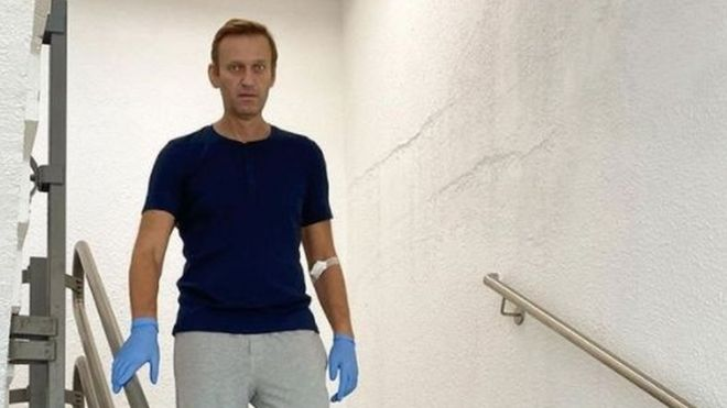 Photo of Навального выписали из берлинской клиники «Шарите». Он провел в ней 32 дня