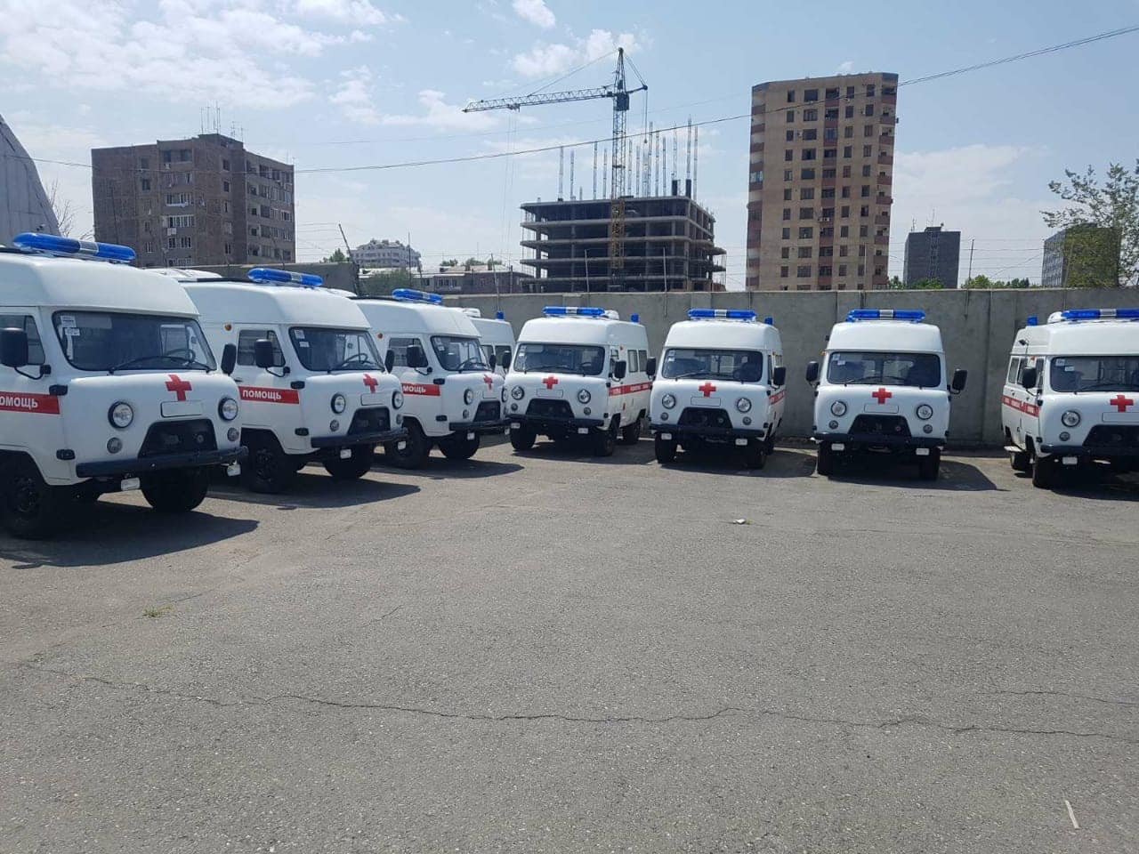 Photo of 21 внедорожник «Скорой помощи» будет направлен в области Армении