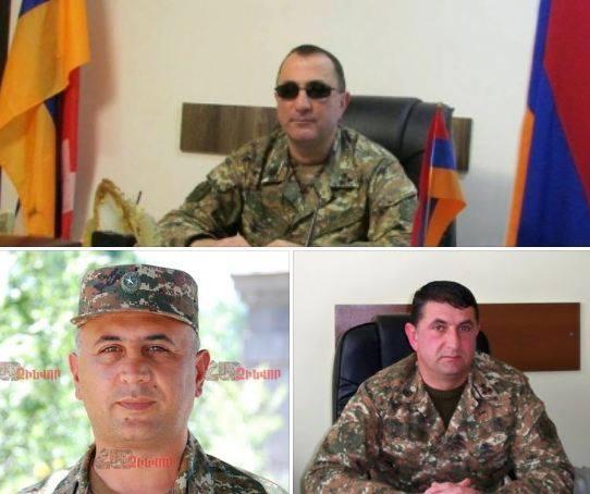 Photo of Կարեն Շաքարյանին, Կարեն Առստամյանին և Սամվել Պողոսյանին շնորհվել է գեներալ-մայորի կոչում