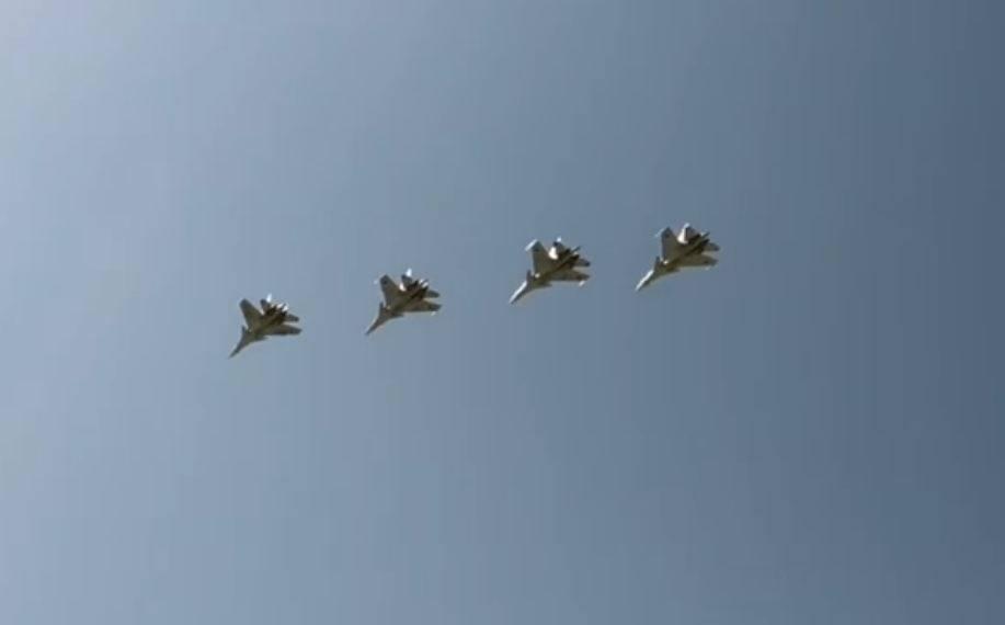 Photo of «Впервые четыре наших «СУ-30СМ» вместе вылетели на дежурство». Н. Пашинян